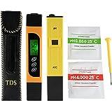 XCSOURCE® 3in1 TDS + EC + medidor de la temperatura y medidor del pH con ATC, precisión digital de la calidad del agua del monitor del estilo de la pluma probador portátil BI717