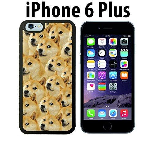 ouucase Monsieur Doge mème fabriqué sur mesure étui/housse/étui Skin pour iPhone 6Plus-Noir-DIY HD Housse PC Pour New Design