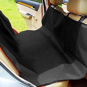 MP power @ Imperméable Couverture Housse de Protection Lavable Tapis de Banquette-Arrière Voiture Universelle pour les sièges arrière de voiture Pour chien Chats Animaux de Compagnie