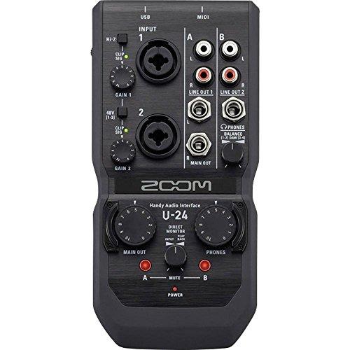 Zoom U di 24cassa audio interface