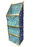 #4: Baby Almirah Hanging 3 Cabinet For Kids, Multi Color