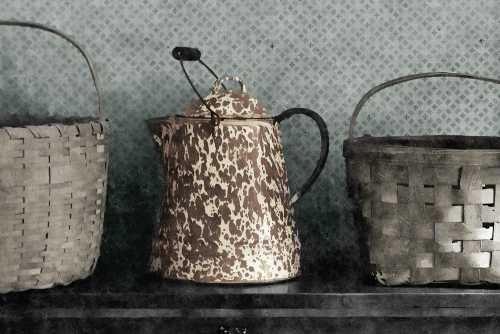 Feelingathome-Leinwand-Bild-Bauernhaus-cm56x85-Kunstdruck-auf-Leinwand