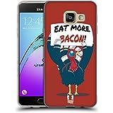 Head Case Designs Bacon Dinde De Noël Étui Coque en Gel molle pour Samsung Galaxy A3 (2016)