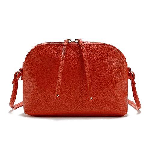 Happy Lily, Borsa a tracolla donna, red (rosso) - softPUshellbagred Red