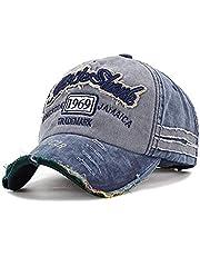 Handcuffs Unisex Denim 1969 Vintage Baseball Cap (Blue)