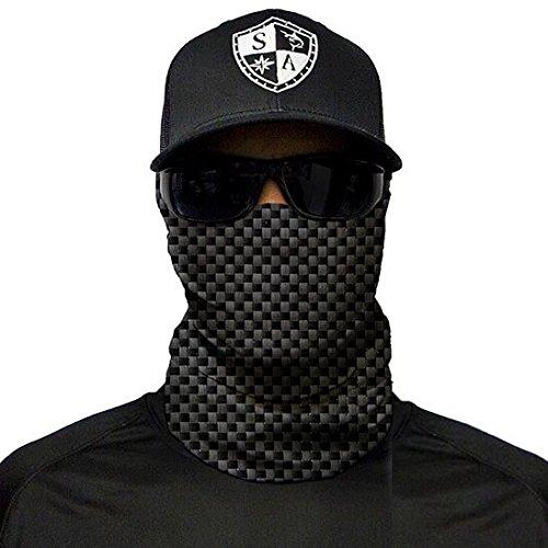 SA Company Face Shield Pasamontañas * * Varios Designs * * Multi unkti ONS Bandana Máscara Fishing Calavera bufanda cara máscara Pañuelo de esquí motocicleta Paintball, Carbon Fiber