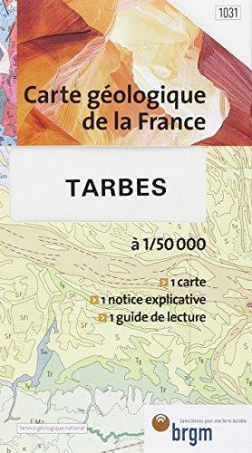 Carte géologique : Tarbes