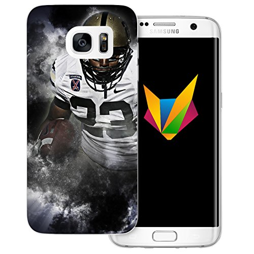 dessana American Football transparente Silikon TPU Schutzhülle 0,7mm dünne Handy Soft Case für Samsung Galaxy S7 Edge Football League