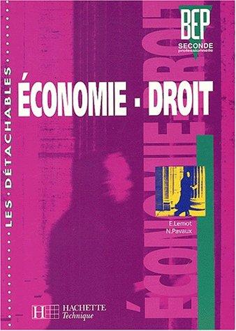 Economie-Droit BEP 2nde professionnelle
