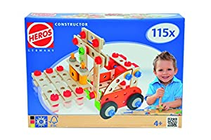 Simba 100039032 Juego de construcción de varios modelos de vehículos 115pieza(s) juego de construcción - juegos de construcción (Juego de construcción de varios modelos de vehículos, 4 año(s), 115 pieza(s), Multicolor)
