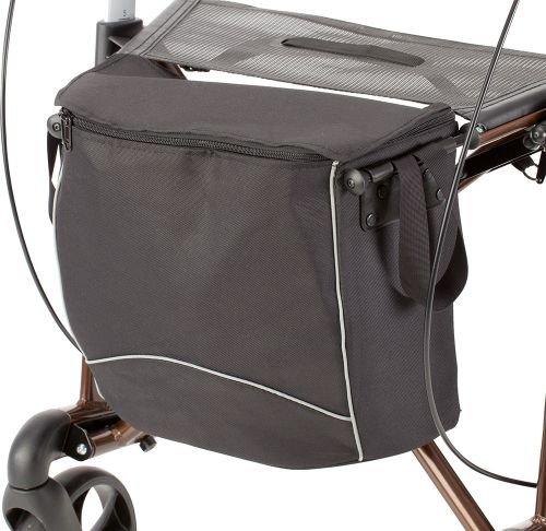 Russka Wetterfeste Tasche für Rollator Vital plus / Carbon