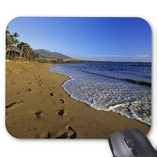 Kaanapali Beach, Maui, Hawaii (Drempad Gaming Mauspads Custom, Kaanapali Beach, Maui, Hawaii, USA Mouse Pad 11.8