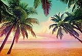 Fototapete MIAMI 368x254 Beach Strand Palmen Florida Sonnenuntergang HDR Karibik