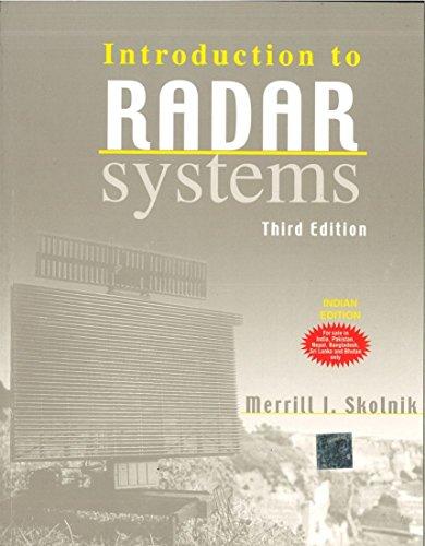 Introduction to Radar (3 Radar)