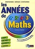 Image de LES ANNEES DE COLLEGE -MATHS NE2006    (Ancienne Edition)