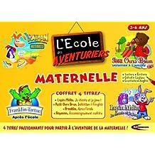 Ecole des Aventuriers : Petit ours brun anglais, Lapin Malin je chante et je joue, Franklin après l'école, Rayman  Maternelle 3-6 ans