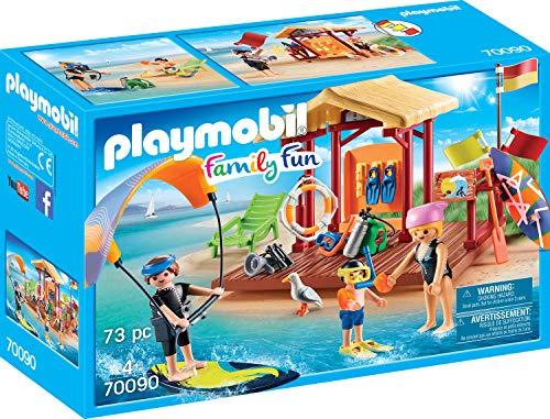Playmobil 70090Family Fun Agua Deportes de Escuela, Multicolor