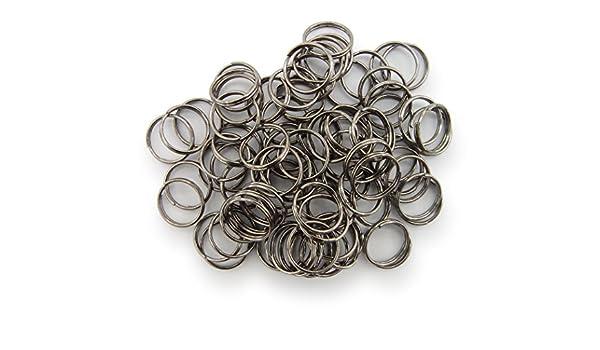 Binderinge jump Rings 4mm Durchmesser Farbe Silber 15g ca.420 Stk ▶ Kostenloser Versand ◀