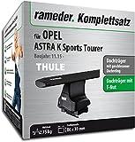 Rameder Komplettsatz, Dachträger WingBar für OPEL ASTRA K Sports Tourer (137084-14870-1)