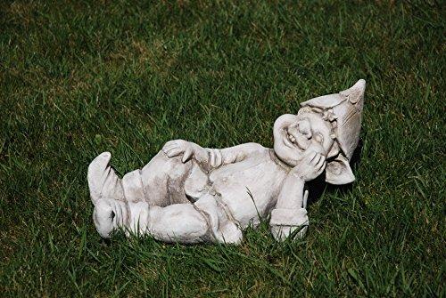 """Gartenfigur """"Troll liegend"""" - Garten, Figur, Troll"""
