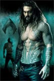 Laminiert DC Comics Justice League Aquaman Maxi Poster 61 x 91,5 cm