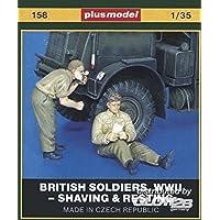 Plus-Model Los soldados británicos, Mundial de afeitar Guerra y ocio (01:35)