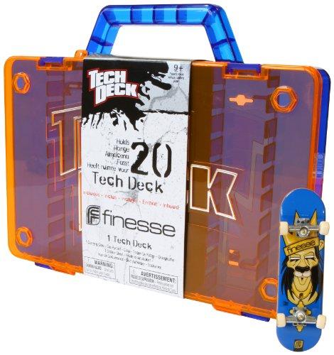 Imagen principal de Tech Deck 6014255 Storage Case - Caja de almacenamiento para 20 monopatines de dedo / fingerboard (incluye 1 monopatín), colores surtidos
