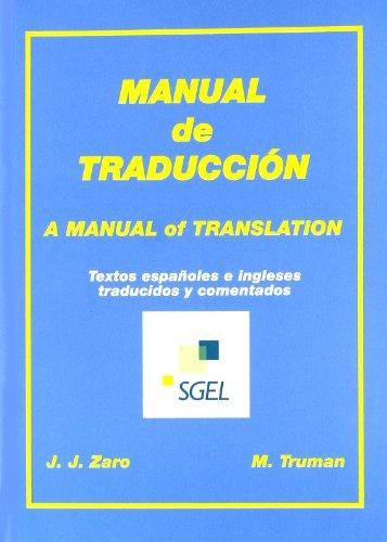 Manual de traduccion por Juan Jesús Zaro