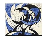Art Angels Artist Card - Linocut