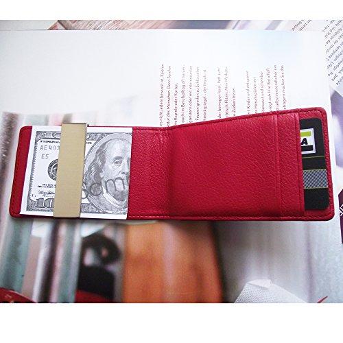 28abaa6129 Troika, Porta carte di credito Unisex, nero/rosso (Rosso) - CCC32/LE