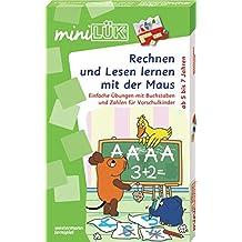 miniLÜK-Sets: miniLÜK-Set: Rechnen und Lesen lernen mit der Maus: Einfache Übungen mit Buchstaben und Zahlen für Vorschulkinder