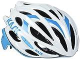 Kask - Mojito 16 - Casco para bicicleta - Mixto para adultos, Multicolor (Weiß / Hellblau), M (52-58 cm)