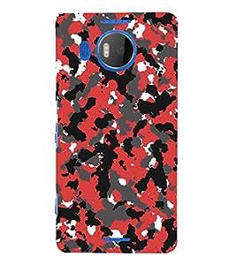 Abstract Design 3D Hard Polycarbonate Designer Back Case Cover for Nokia Lumia 950 XL :: Microsoft Lumia 950 XL