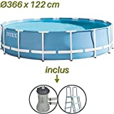 Intex - Piscine tubulaire INTEX 3,66 x 1.22 m