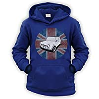 British A-Series Kids Hoodie [Navy Large]