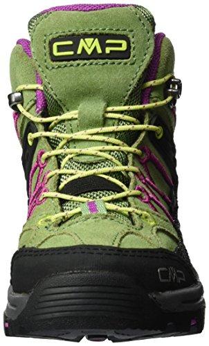C.P.M. Rigel, Scarpe da Arrampicata Alta Unisex – Bambini Verde (Salvia)