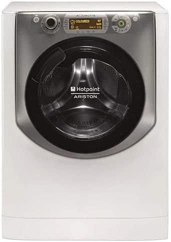 Hotpoint-Ariston AQD1070D69EU Lave Linge 10 kilograms 1600 rpm Classe: A Blanc et Titanium