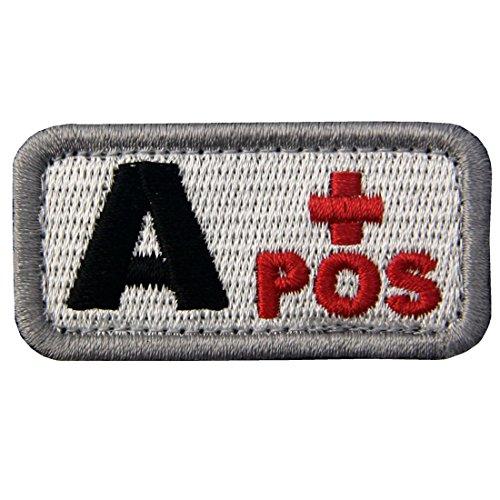 Táctico Tipo A positivo Tipo sangre emblema