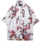 PengGengA Mujeres Hombres Tops Cardigan Chal De Floral Kimono Impresos Holgado Casual