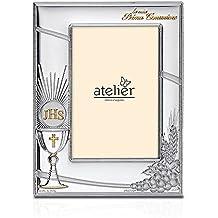 Atelier - Portarretratos para comunión, realizado en plata con el método PVD (depósito físico