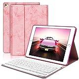 COO Coque Clavier AZERTY Français iPad 9.7 Pouces Bluetooth Clavier Etui Housse Auto...