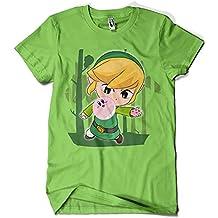 1615-Camiseta Link Bubbles (Gualda Trazos)