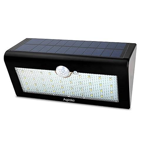 38 LED Lampe Solaire Extérieur 4W, Aglaia Lampe 4000mAh à