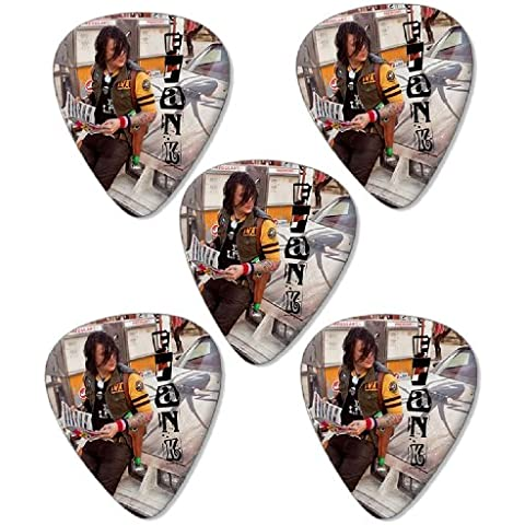 My Chemical Romance Frank Premium Chitarra Picks Plettri x 5