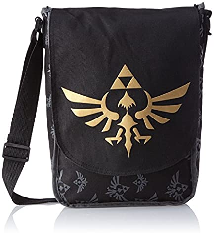 Zelda Nintendo Skyward Sword Triforce Logo Flight Messenger Bag