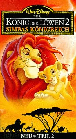 Walt Disney Der König der Löwen 2 - Simbas Königreich [VHS]