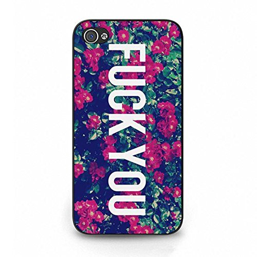 Fuck You Iphone 4/4s Case,Hipster Fancy Fuck You Phone Case Cover for Iphone 4/4s Fuck Elegant Color120d