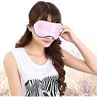 Hrph Silk Augenmaske Cooling Eye-Abdeckung für Reisen Schlafmaske Abdeckungen Schlafen Eyeshade Schnarch Gesichtsmasken preisvergleich bei billige-tabletten.eu