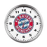 FC Bayern München Elegante orologio da parete/orologio/orologio da parete con movimento al quarzo Ø 35cm FCB–Plus gratis di Forever Monaco