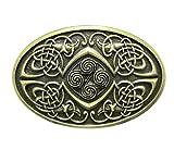 Gürtelschnalle Celtic Keltischer Knoten Phoenix 3D Optik für Wechselgürtel Gürtel Schnalle Buckle Modell 256 - Schnalle123